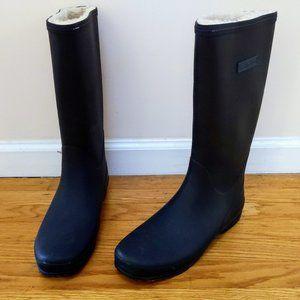 Worn 1x Tretorn Sweden lined rain & snow boots 9.5
